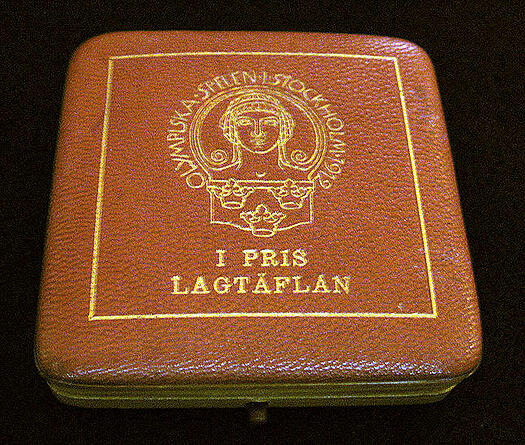 1912 olympic medal leather case