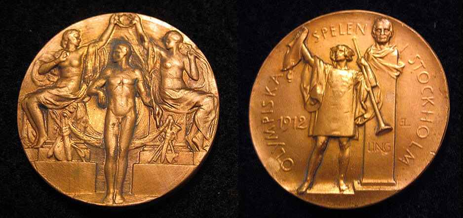 1912 summer olympic gold medal 1