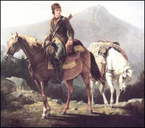 daniel boone image|daniel boone painting|raleigh degeer amyx|the raleigh degeer amyx collection|