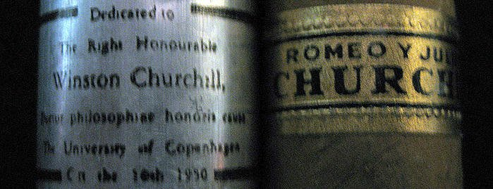 cigars made for Churchill