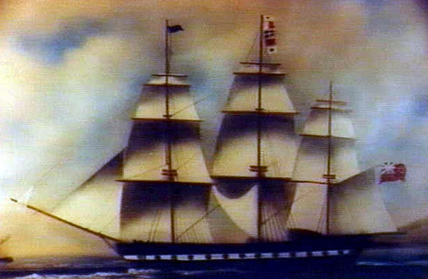 CLIPPER SHIP|JAMES MONROE|J.Q. ADAMS|SHIPS PASSPORT|