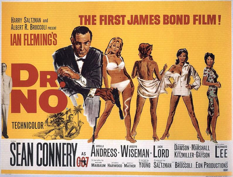 Original Dr. No poster
