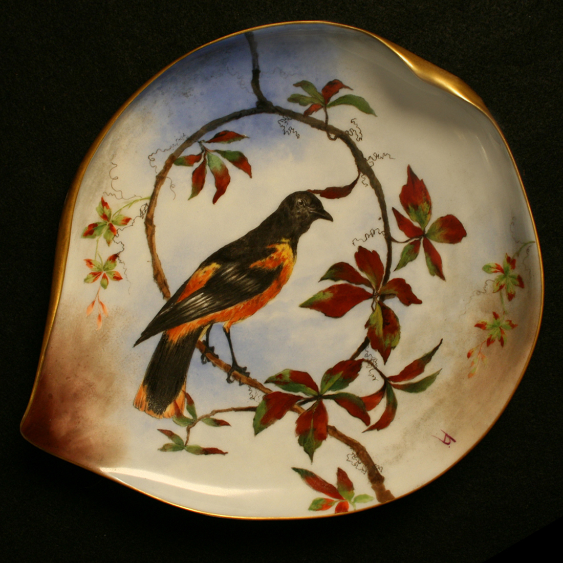 rutherford hayes white house chine service dinner plate