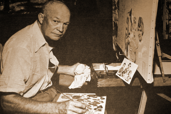 eisenhower painting