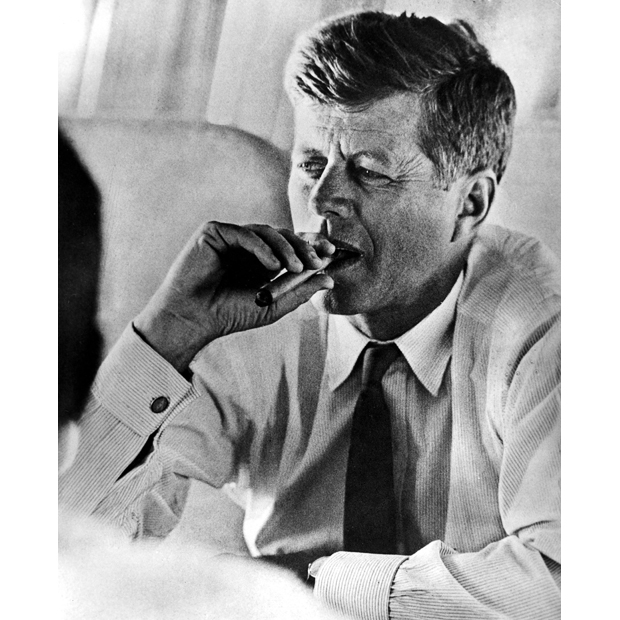 JFK CIGAR|JOHN F. KENNEDY CIGAR|PRESIDENTIAL MEMORABILIA|THE RALEIGH DEGEER AMYX COLLECTION|THE AMERICAN HERITAGE COLLECTION|