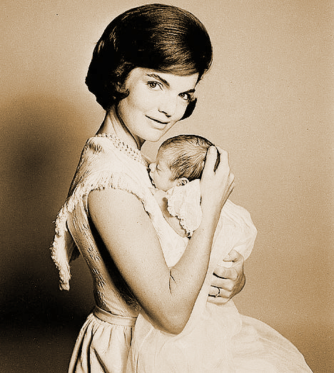 jackie kennedy and baby