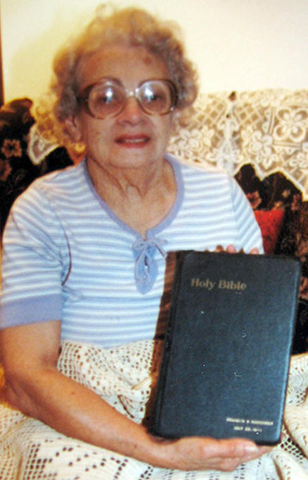 lillian rogers parks and fdr's bible