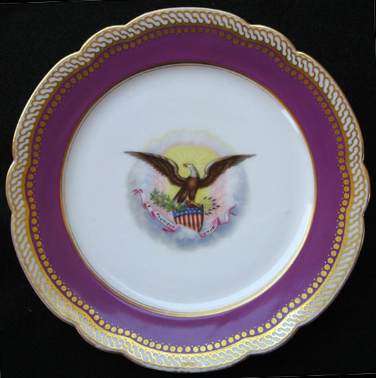 abraham lincoln white house china