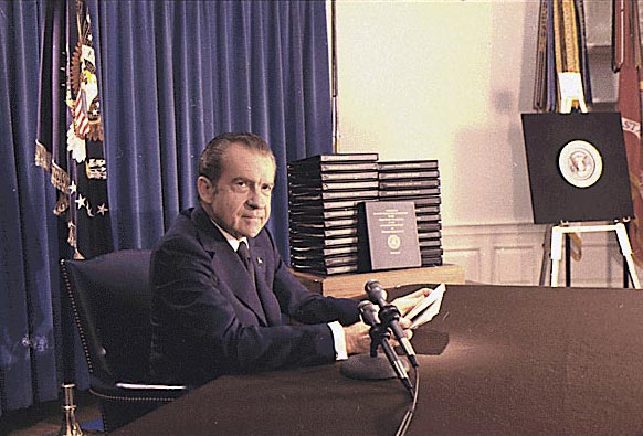 NIXON WATERGATE TAPES|NIXON RESIGNATION|THE RALEIGH DGEER AMYX COLLECTION|THE AMERICAN HERITAGE COLLECTION|RALEIGH DEGEER AMYX|