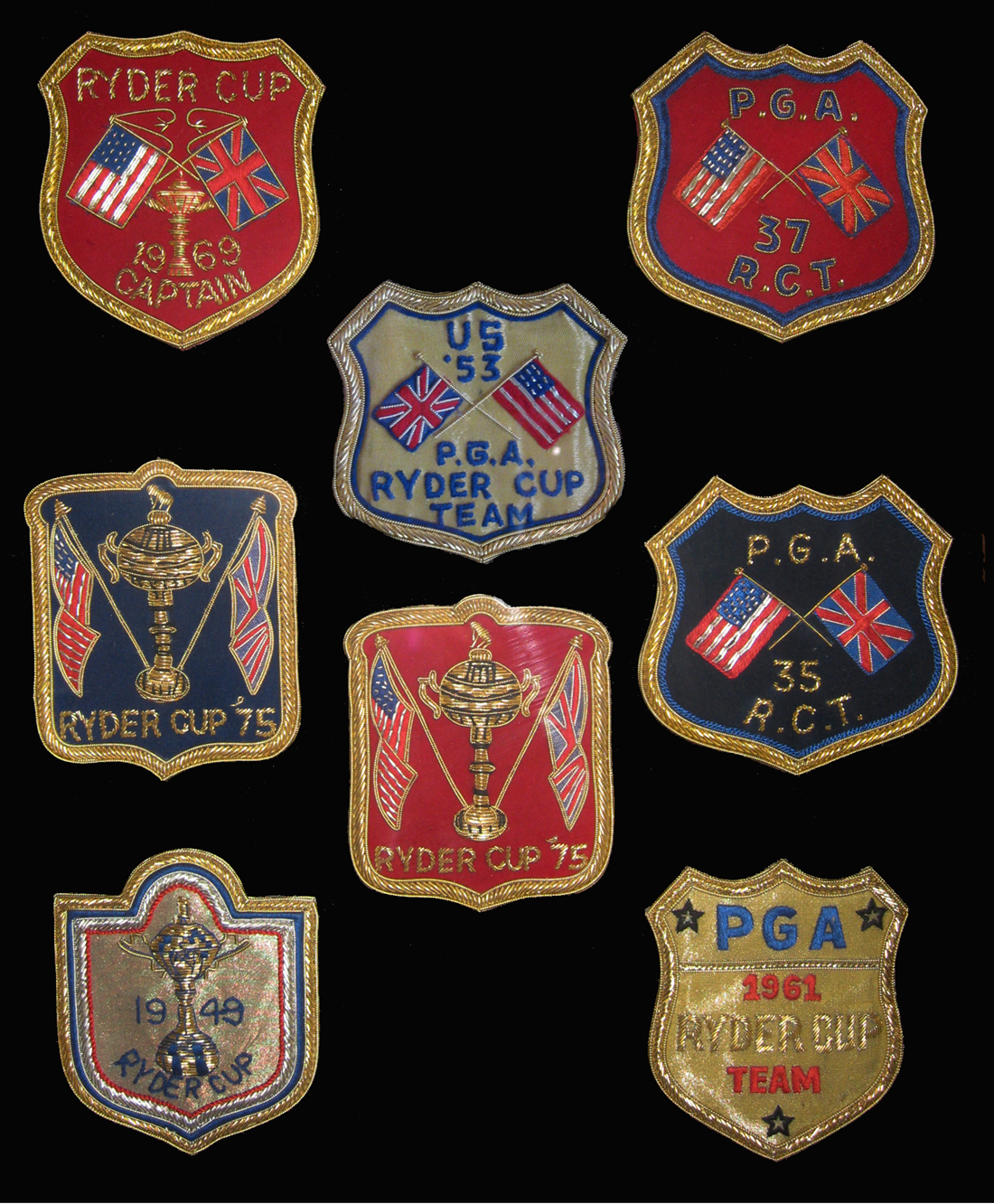 RYDER CUP CRESTS|RYDER CUP BLAZER CRESTS|RYDER CUP CHAMPIONS|RYDER CUP|THE RALEIGH DEGEER AMYX COLLECTION|THE AMERICAN HERITAGE COLLECTION|