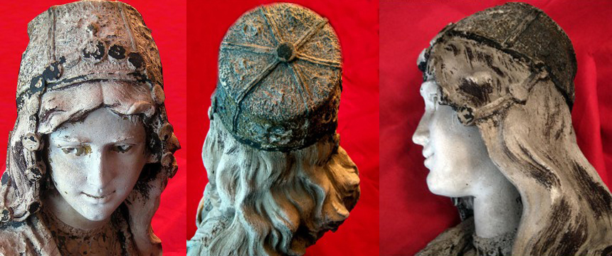 NOBLEWOMAN SCULPTURE|MEDITERRANIAN SCULPTURE|THE RALEIGH DEGEER AMYX COLLECTION|THE AMERICAN HERITAGE COLLECTION|