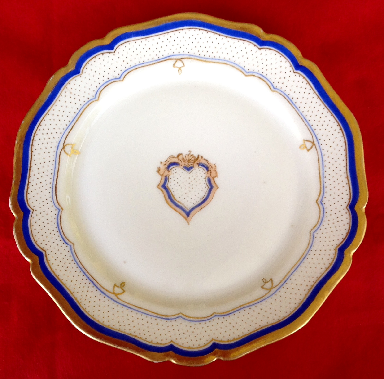 franklin pierce white house china service dinner plate