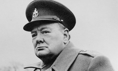 Churchill in Uniform