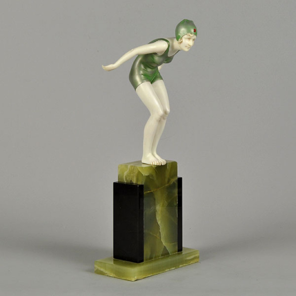 The Diver by Ferdinand Preiss