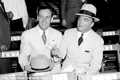 J. EDGAR HOOVER & CLYDE TOLSON|THE RALEIGH DEGEER AMYX COLLECTION|THE AMERICAN HERITAGE COLLECTION|