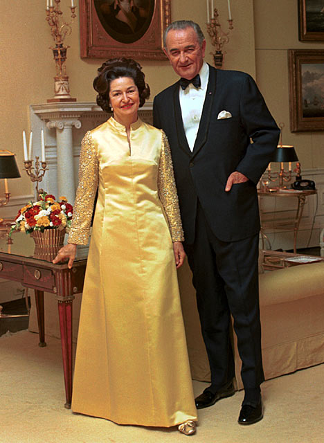 lyndon b. johnson & lady bird johnson
