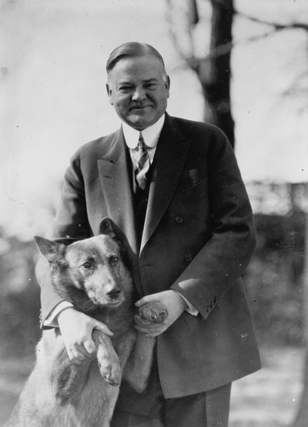 Hoover and his dog