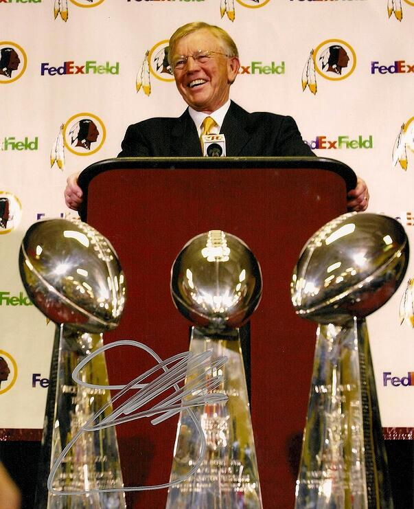 joe gibbs super bowl trophies