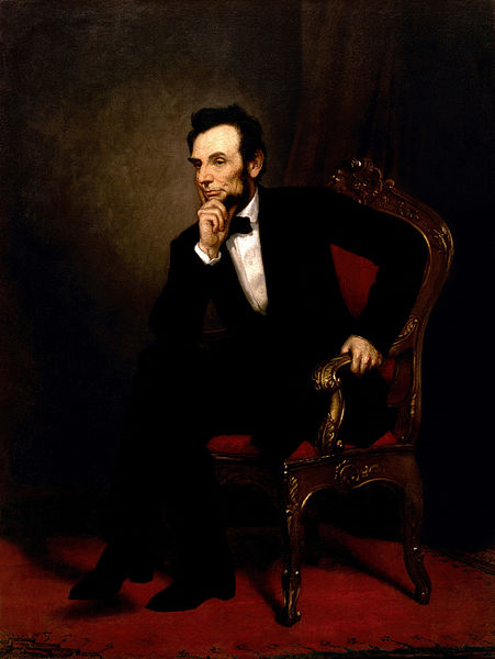 painting of Abraham Lincoln