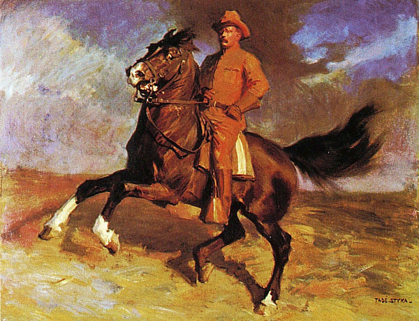 Roosevelt as a Rough Rider resized 600