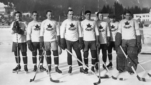1924 winter olympic canadian hockey team