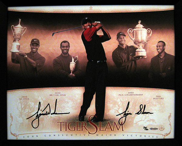Tiger Woods Win of 4 Consecutive Majors - Tiger Slam