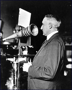 warren g harding phonograph