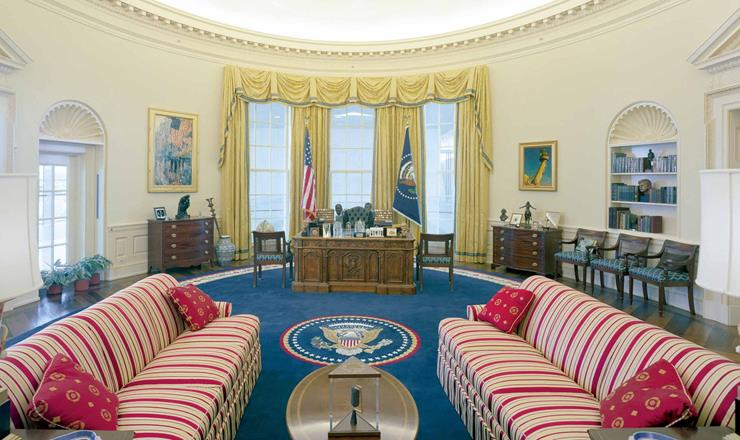 Bill Clinton oval office