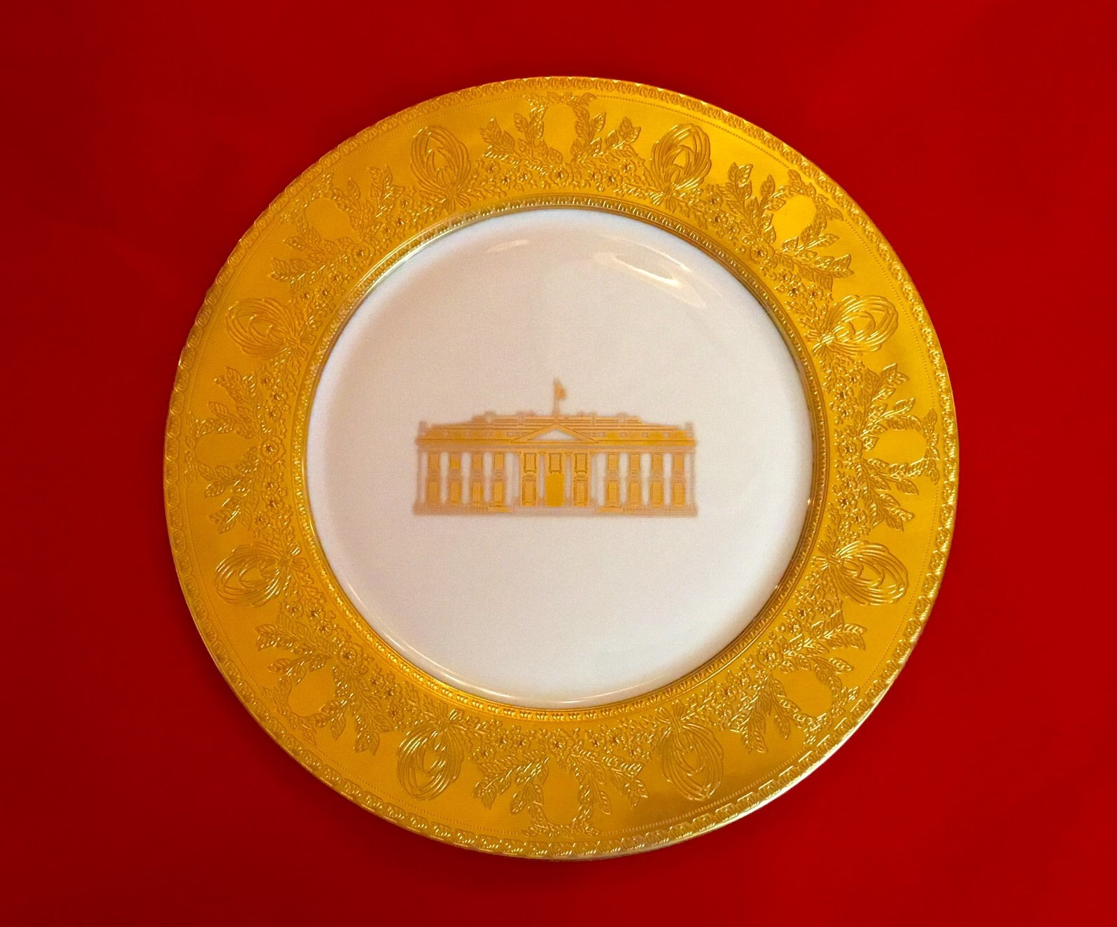 Clinton gold plate