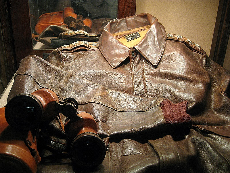 Eisenhower leather jacket