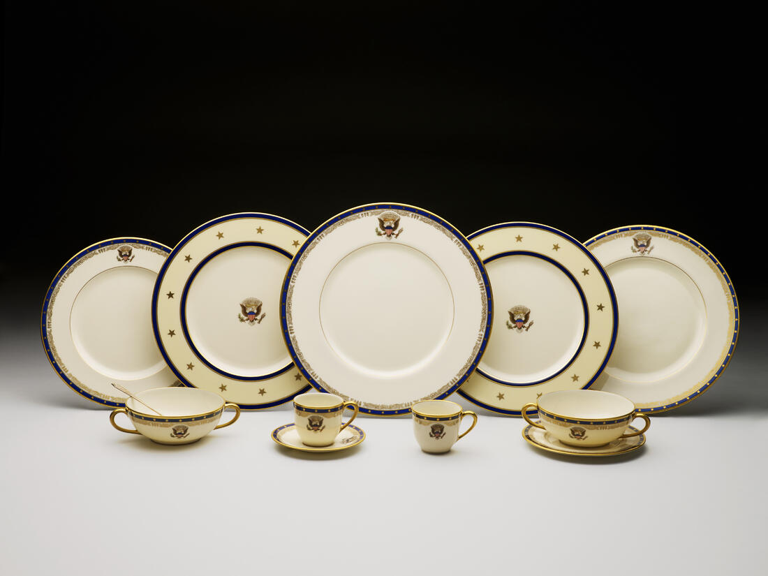 FDR Roosevet official white house china