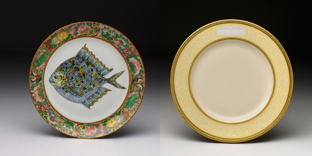 President Grant & President Clinton official white house china for sale
