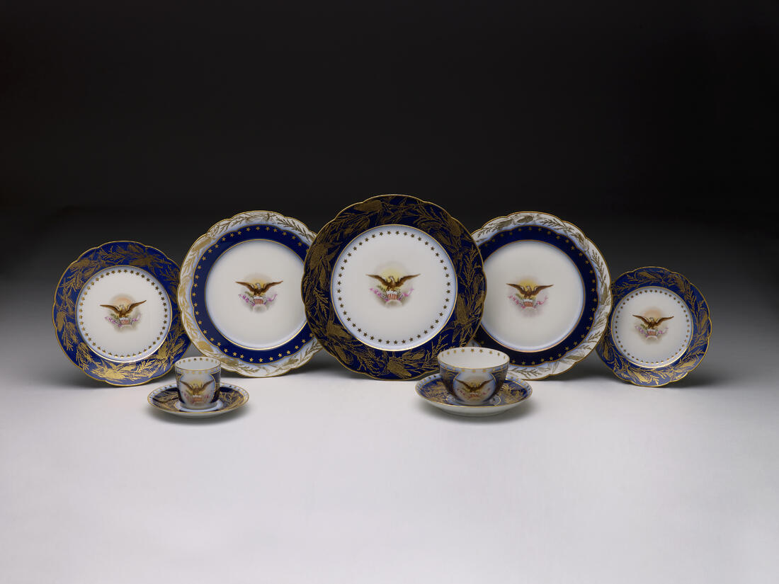 HARRISON official white house china