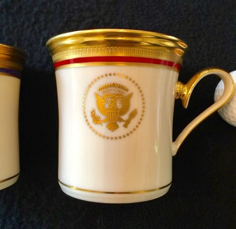 REAGAN WHITE HOUSE CHINA CUP