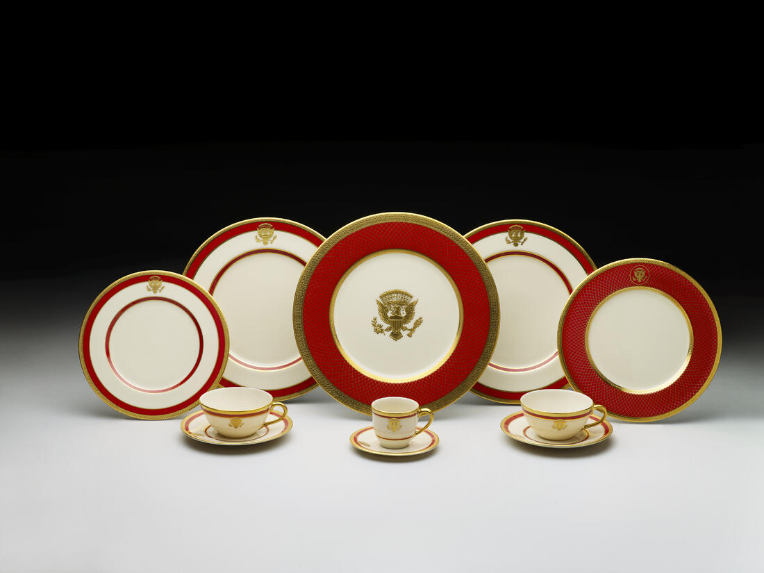 Reagan  official white house china