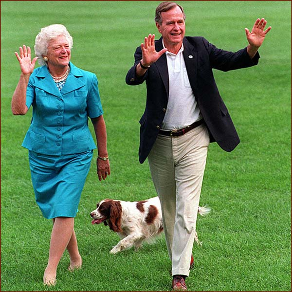 george hw bush and barbara