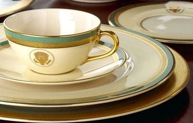 TRUMAN WHITE HOUSE CHINA CUP SAUCER