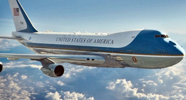 Air force one plane WHITE HOUSE CHINA