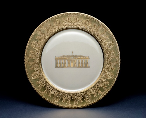 CLINTON WHITE HOUSE CHINA PLATE