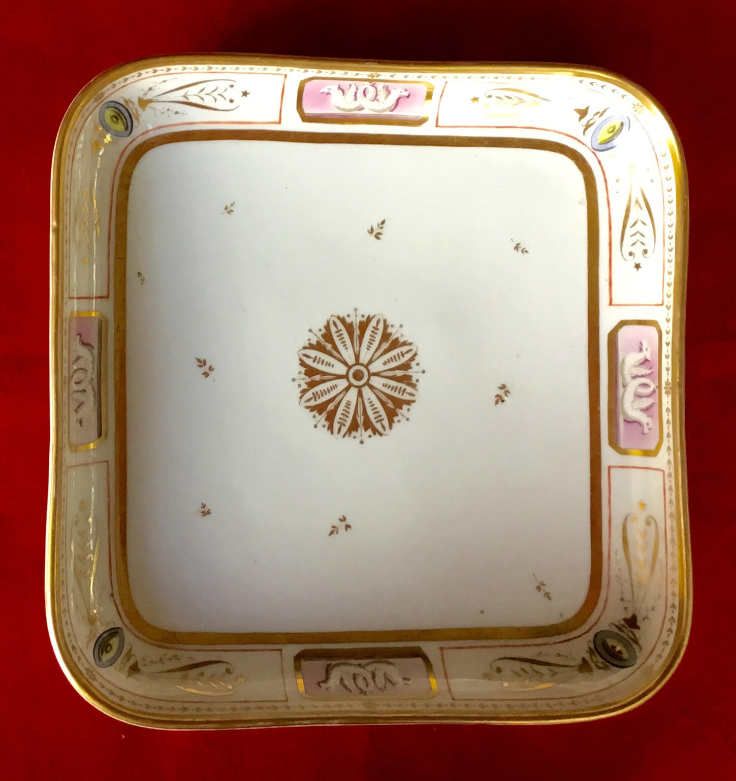 john quincy adams white house china service dinner plate