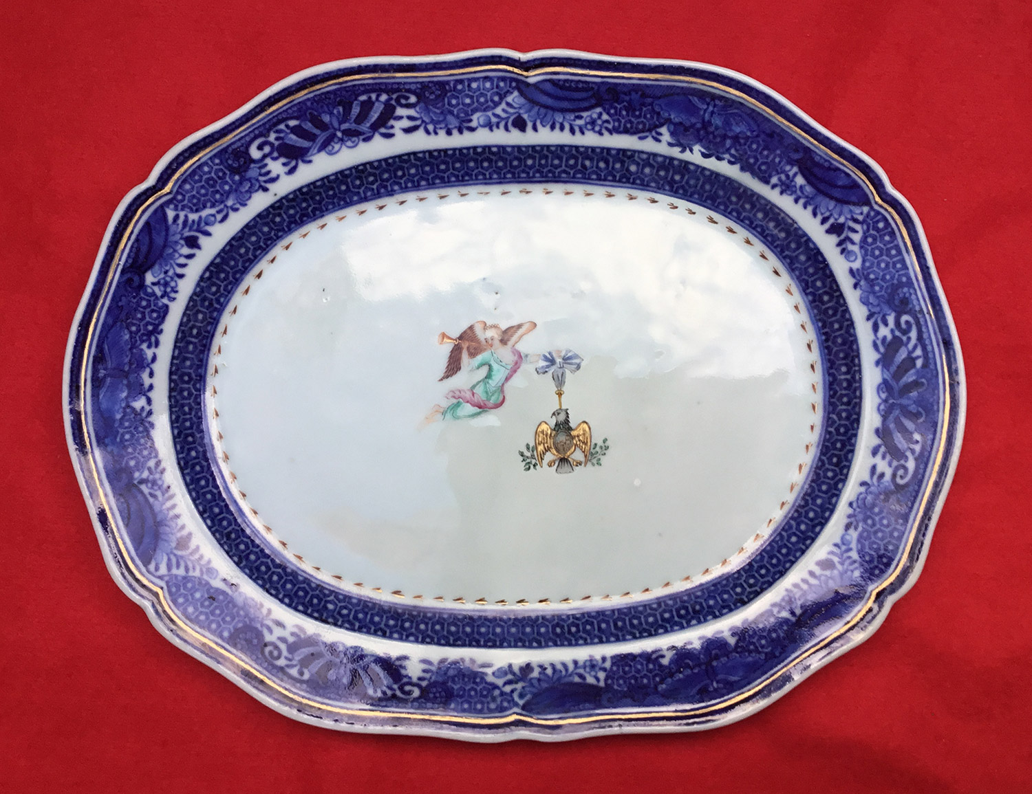 george-washington-small-oval-platter white house china