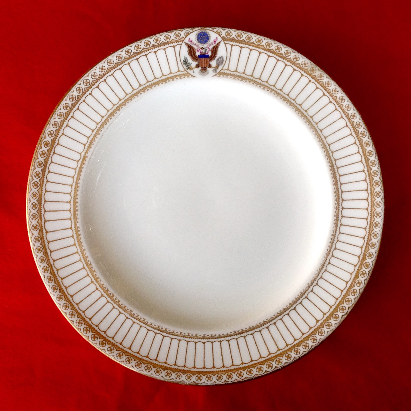 theodore teddy roosevelt white house china service dinner plate