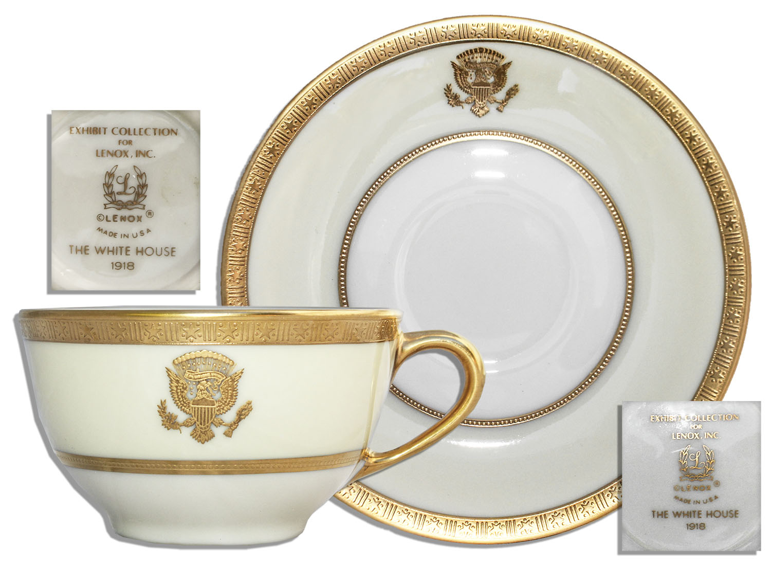 woodrow wilson WHITE HOUSE CHINA cup and suacer